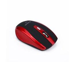 Draagbare Bluetooth 6D Draadloze Smart Bluetooth Muis 2400 DPI Gaming Game Muis Voor Laptop/Desktop Office Gebruik Sliver/rood <br />  S SKYEE