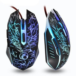 MyXL Imice Muizen Bedrade Gaming Muis USB Gamer mouse 6 Knoppen 3600 dpi Optische LED gaming mouse Voor Desktop Office gebruik <br />  iMice