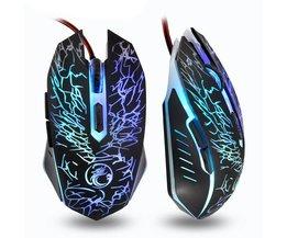 Imice Muizen Bedrade Gaming Muis USB Gamer mouse 6 Knoppen 3600 dpi Optische LED gaming mouse Voor Desktop Office gebruik <br />  iMice