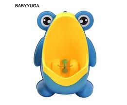 Leuke Kikker Baby Potje Wc Urinoirs Jongen Assento Sanitario Infantil Kinderen Potty Toilet Training Kids Urinoir Plastic Trainers <br />  Babyyuga