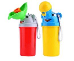 Draagbare Handig Reizen Urinoir Baby Kids Potje Meisje Jongen Auto Wc Vehicular Urinoir Karton Plastic Plassen <br />  pudcoco
