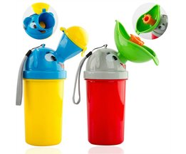 Draagbare Baby Jongen Meisje Potje Urinoir Emergency Auto Wc voor Camping Auto Reizen en Kid Potty Pee Training Urinoir Lek-proof <br />  MyXL