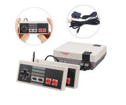 Mini TV Handheld Game Console Video Game Console Voor Nes Games met 500 Verschillende Ingebouwde Games PAL & NTSC <br />  iMice