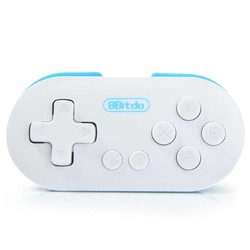MyXL Mini 8 Bitdo NUL Controller Draagbare Bluetooth Wit Draadloze GamePad Sluiter Voor Android Telefoons iOS voor iPhone Windows Mac OS <br />  GEN GAME