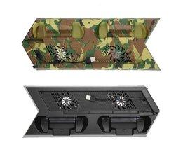3000Rpn Koelventilator Voor Sony PS4 Koeler Met Dual Charger Poorten En USB HUB Poorten 375x142x30mm <br />  VODOOL