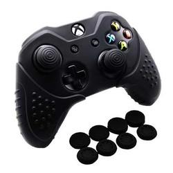 MyXL Chinfai Siliconen Case voor Microsoft Xbox Een X antislip Beschermende Huid Xbox een Controller Case voor Xbox Een S met Thumb Grip <br />  Voglove
