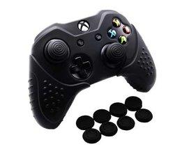 Chinfai Siliconen Case voor Microsoft Xbox Een X antislip Beschermende Huid Xbox een Controller Case voor Xbox Een S met Thumb Grip <br />  Voglove