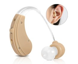 Oplaadbare AHO Gehoorapparaat voor Ouderen/Gehoor verlies Geluidsversterkers Oor Care Tools 2 Kleur Verstelbare Hearing Aids <br />  Cofoe