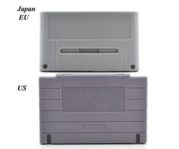 Game Cartridge Vervanging Plastic Shell Voor SNES game Console card 16bit game card shell (US/JP/EU versie) <br />  xunbeifang
