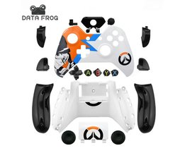 Data kikker custom limited edition gevallen voor xbox one controller behuizing shell voor xbox one case mod kit + volledige knoppen  <br />  <br />  DATA FROG