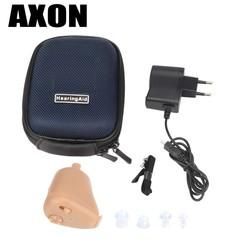 MyXL Mini Onzichtbare Geluidsversterkers Oor Aid Verstelbare Tone  K-88 Oplaadbare Hoortoestellen In-Ear voor Ouderen gehoorverlies  <br />  <br />  Axon