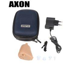 Mini Onzichtbare Geluidsversterkers Oor Aid Verstelbare Tone  K-88 Oplaadbare Hoortoestellen In-Ear voor Ouderen gehoorverlies  <br />  <br />  Axon