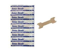 100 Stks/partij Neus Strips Anti Snurken Patches Slaap Beter Rechts Aid Stoppen Snurken Beter Ademen Verbeteren Slapen Gezondheid Product