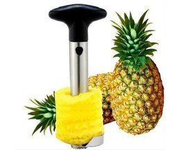 Rvs Fruit Ananas Corer Slicers Peeler Snoeier Cutter Keuken Cutter Peeler Makkelijk Tool