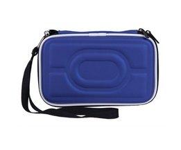 "Zwarte Draagbare Hard Carry Case Cover Tas Rits EVA Draagtas Cover Pouch 2.5 ""HDD Externe Harde Schijf Beschermen Box"