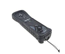 Draadloze Afstandsbediening Voor Wii Ingebouwde Motion Plus + Silicone Case Skin Cover + Hand Strap Voor Nintend Voor Wii