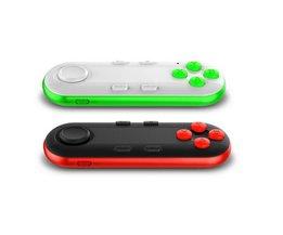 Bluetooth gamepad ios android gamepad vr controller joystick selfie shutter afstandsbediening voor telefoon pc tv box smart tv