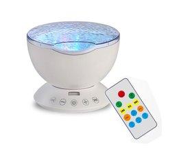Hoge Kwaliteit12 LED Licht Projector Oceaan Golf Kid Kamer Kleur Night Lamp Effect Projectie