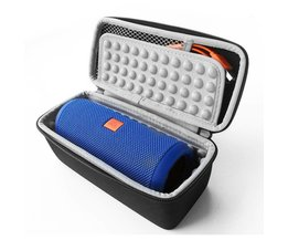 EVA Draagbare Rits Reizen Hard Case Tas Beschermen Cover Houder Pouch Doos voor JBL Flip 3 4 2 1 Logitech x300 Tas Bluetooth Speaker