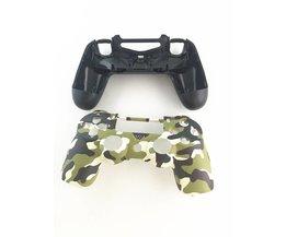 Groen Camouflage Case Cover Skin Beschermende Camo Vervang Reparatie Behuizing Shell voor Sony Playstation 4 PS4 DualShock 4 Controller