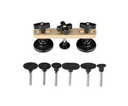 Truck PDR Verveloos Dent Auto Reparatie Tools Trekken Brug Uitdeuken Hand Tool Set PDR Tool kit Nieuw Ontwerp gold sliver kleur