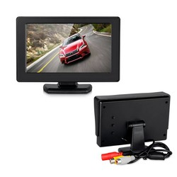 """MyXL Podofo Wireless Auto Achteruitkijkspiegel Parking Assist 4.3 """"kleur LCD TFT Achteruitrijcamera Monitor + Nachtzicht Achteruitkijkspiegel Backup Camera Voor Auto"""