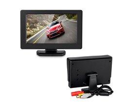 """Podofo Wireless Auto Achteruitkijkspiegel Parking Assist 4.3 """"kleur LCD TFT Achteruitrijcamera Monitor + Nachtzicht Achteruitkijkspiegel Backup Camera Voor Auto"""