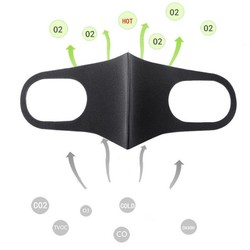 MyXL 3 stks/partij Unisex Motorfiets Gezichtsmasker Motorbike Onderdelen Accessoires Beschermende Gears Mond Maskers Spons Ademend Winddicht PM2.5