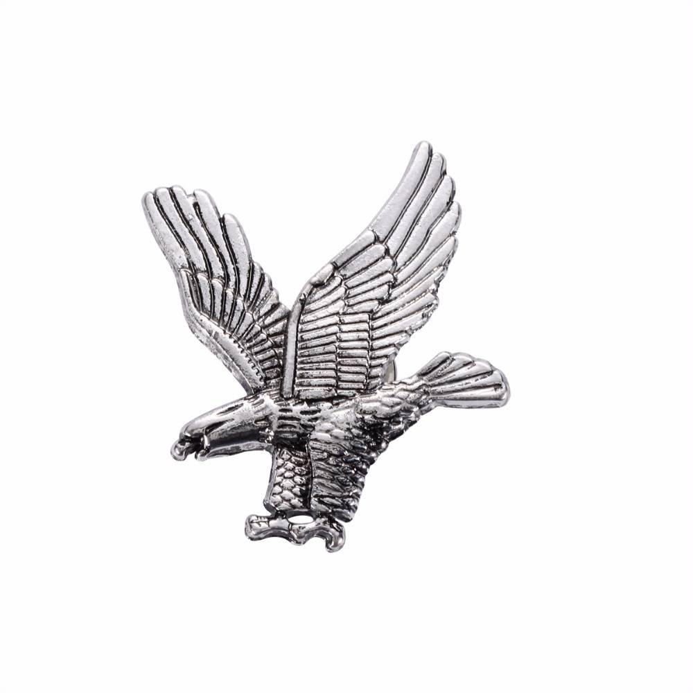 CollectieUnisex Sieraden Eagle Animal Broches Gouden Zilver Vogels Pak Pin Mannen Vrouwen Broche Rev