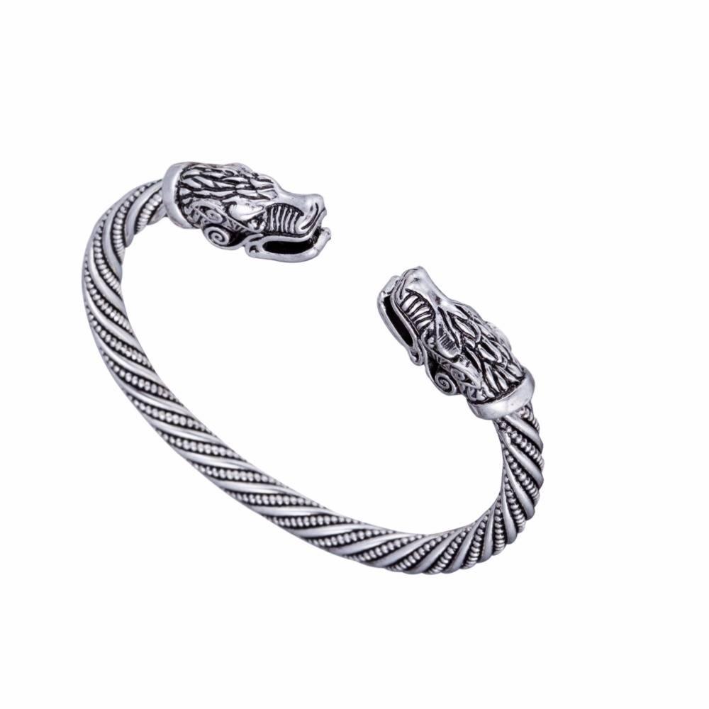 Lemegeton Indian Sieraden Wolf Voor Vrouwen Mode-accessoires Viking Armband Mannen Manchet Bangles T