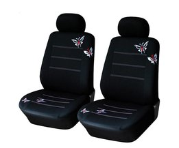 Auto Styling Vlinder Geborduurde Autostoel Cover Elastische Bescherming Auto Front Stoel Protector Kussen Case Universele