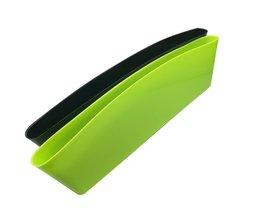 2 STKS Vangst Catcher Organizer Box Autostoel Gap Slit Pocket Houder Autostoel Naad Opbergdoos Auto Styling 4 kleuren