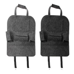 MyXL Auto Backseat Organizer Auto-Styling Houder Vilt Covers Veelzijdige Multi-Pocket Seat Wolvilt Opslag Container Opknoping doos