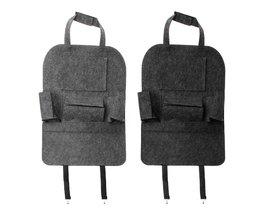 Auto Backseat Organizer Auto-Styling Houder Vilt Covers Veelzijdige Multi-Pocket Seat Wolvilt Opslag Container Opknoping doos