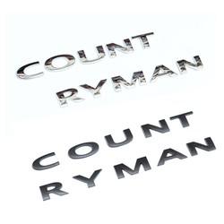 MyXL 3D Mentale Countryman Kofferbak Embleem Badge voor MINI Cooper R60 F60 Styling Exterieur Auto Accessoire