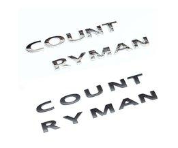 3D Mentale Countryman Kofferbak Embleem Badge voor MINI Cooper R60 F60 Styling Exterieur Auto Accessoire