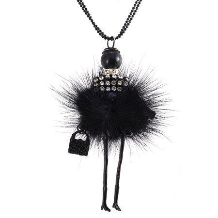 ALS UOntwerp Pop Ketting Lange Ketting Hanger Strass Kettingen Vrouwen Meisje Crystal Bag Verklaring