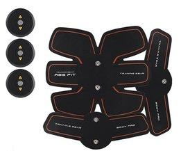 Oplaadbare Elektrische Puls Behandeling Spierstimulator EMS Stimulatie Body Afslanken Machine Buikspier Uitoefenaar Training