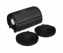 Black Grey Achter Ash Tray Box Side Cap Voor VW JETTA/GOLF/GTI/BORA/MK4 1J0857962H 1999-2000 1998-2006
