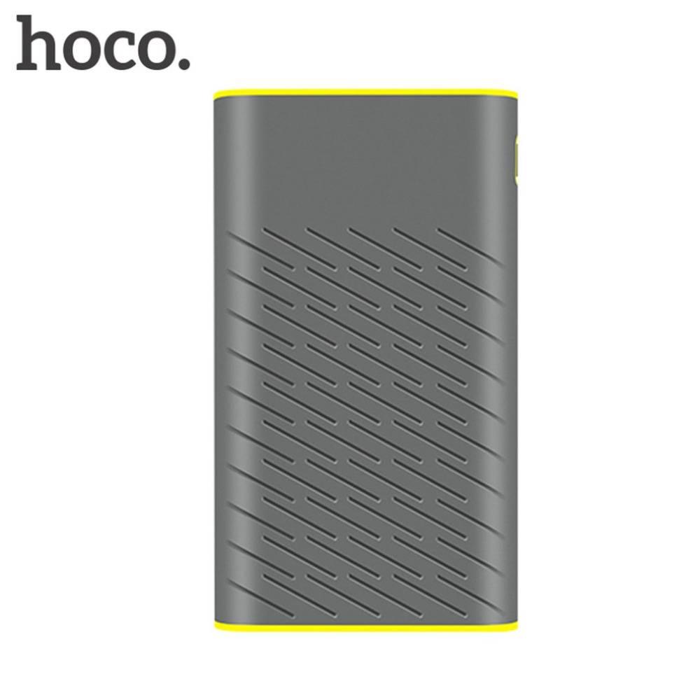HOCO B31A Licht Draagbare Power Bank Dual USB 30000 mAh 18650 Lithium Batterij Voor Mobiele Telefoon
