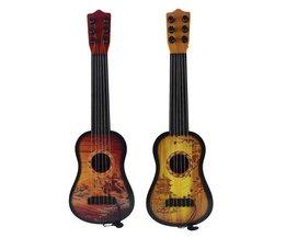43 cm Kinderen Gitaar 6-String Ukulele Met Verstelbare Tuners En Chinese Stijl Patroon Educatief Muziekinstrument