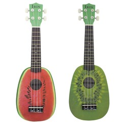 "MyXL 21 ""Ukelele 4 Strings Ukulele Kleurrijke Mooie Watermeloen Basswood Snaarinstrument Kerstcadeau"
