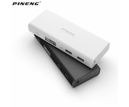 PINENG PN953 10000 mAh Dual USB Power Bank Draagbare Oplader Externe Batterij Bank Voor iPhone Xiaomi Mobiele Telefoon Powerbank