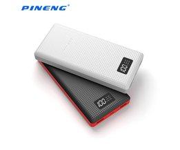 Originele Pineng 20000 mah Power Bank Draagbare Batterij Mobiele Li-Polymeer PowerBank met LED Indicator Voor iphone7