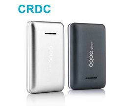 CRDC Mini Power bank 10000 mAh Dual USB Draagbare Oplader Externe Batterij Met Ion Polymeer Powerbank voor iPhone Xiaomi mi5 mi6