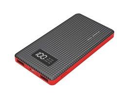 Pineng PN960 Externe Batterij 6000 mAh Lcd-scherm Draagbare Batterij Mobiele Power Bank USB Li-Polymeer Oplader Voor iphone android