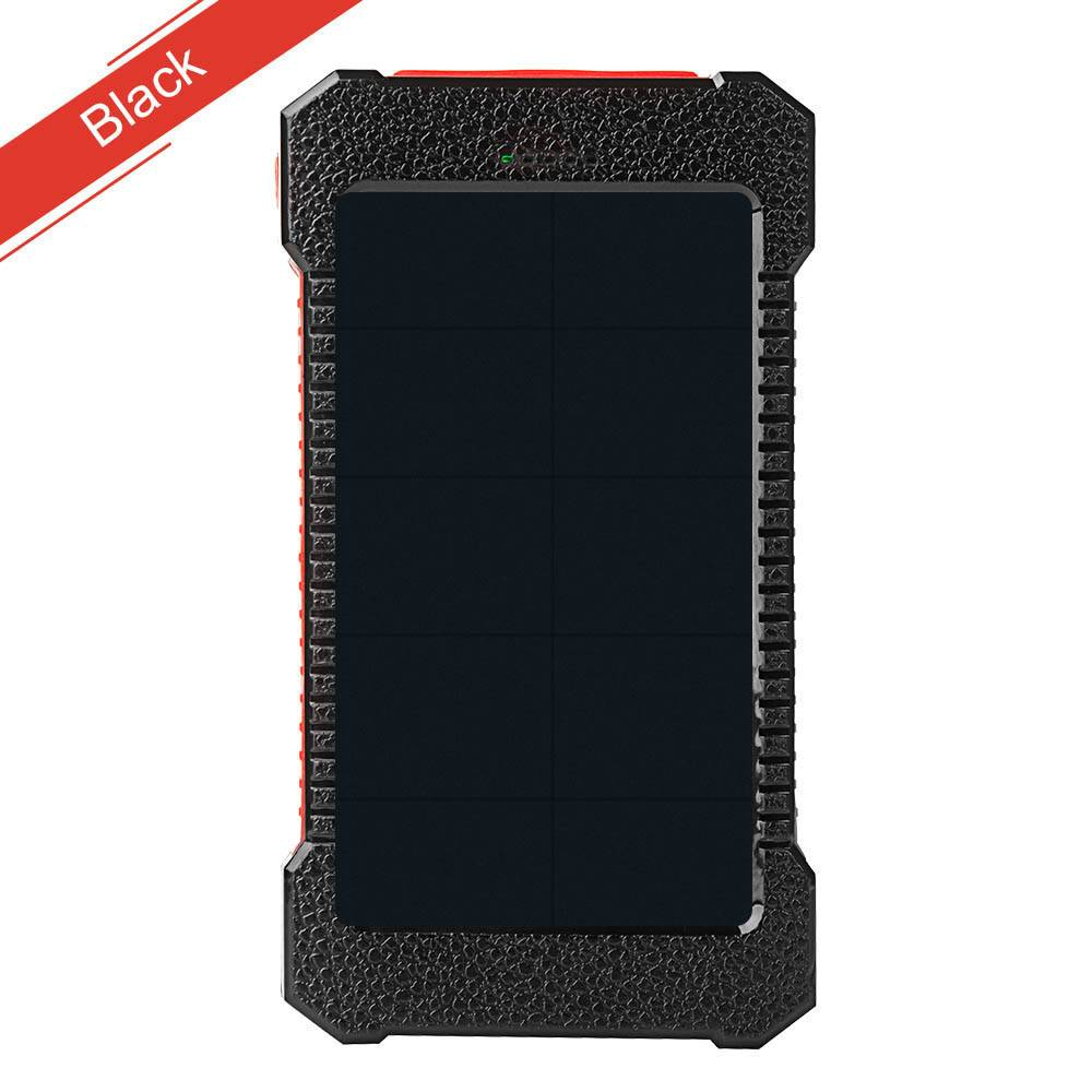 Tollcuudda Waterdichte Zonne-energie Bank Draagbare Oplader Externe Batterij Solar Charger Dual USB