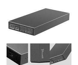 Tollcuudda Metal Case Power Bank Draagbare Oplader 10000 mAh Externe Batterij PowerBank Dual USB Voor Alle Telefoon Poverbank 2 Kleuren