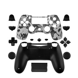 MyXL Data Kikker Custom Camouflage Gevallen Voor PS4 Limited Edition Controller Behuizing Shell Voor Sony Playstation 4 Gamepad