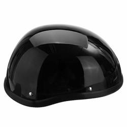 MyXL 1 Stuk 57-62 cm ABS Plastic Motorfiets Fietsen Helm Motorcross Capacete Half Helm Voor Harley Cafe Racer Retro